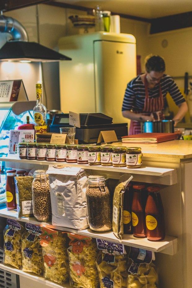 Bottega Caruso in Old Kent Market