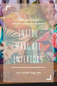 Margate Interiors: If you want a splash of colour for your home then Margate Interiors is the place to go.